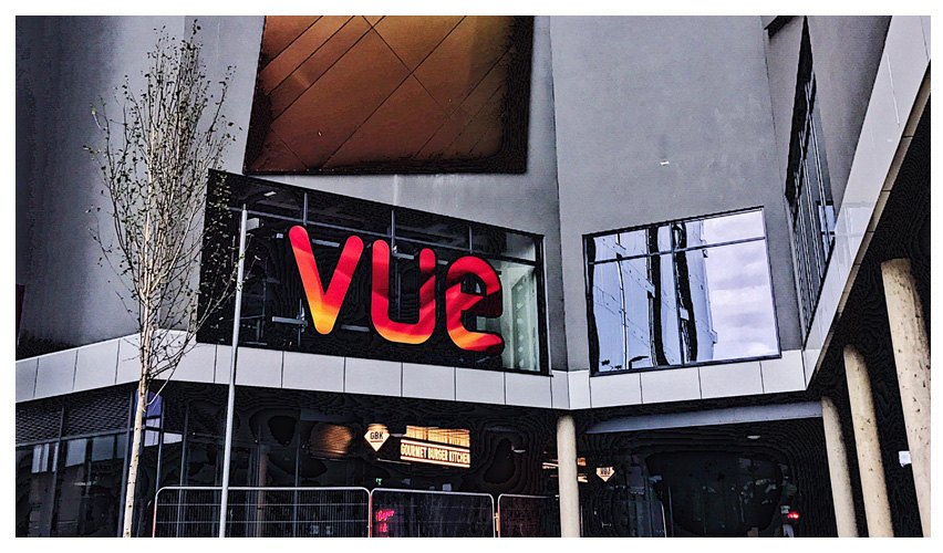 A new 7 screen Vue cinema in Bedford