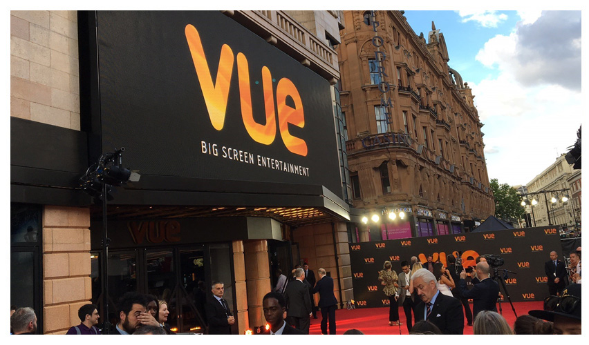 3-month refurbishment of Vue's flagship cinema, Vue West End in Leicester Square