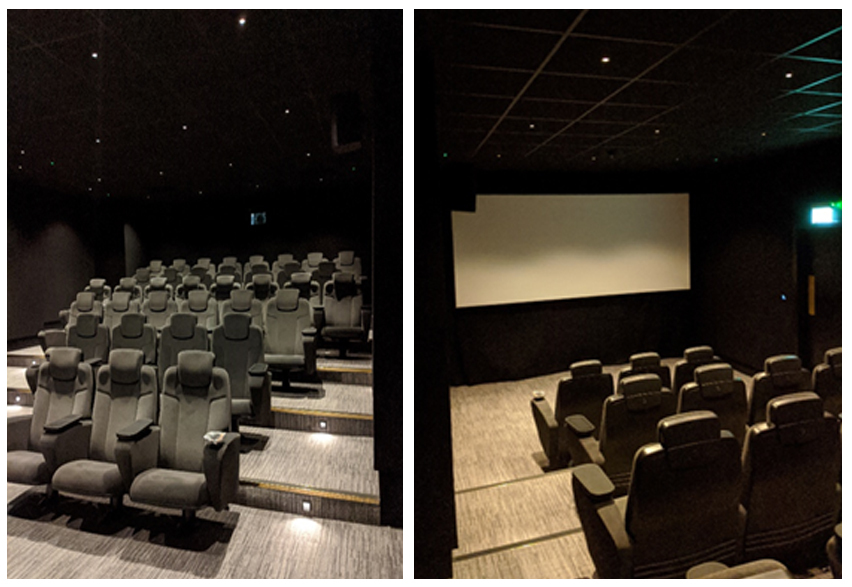 New Boutique Cinema in Manchester.