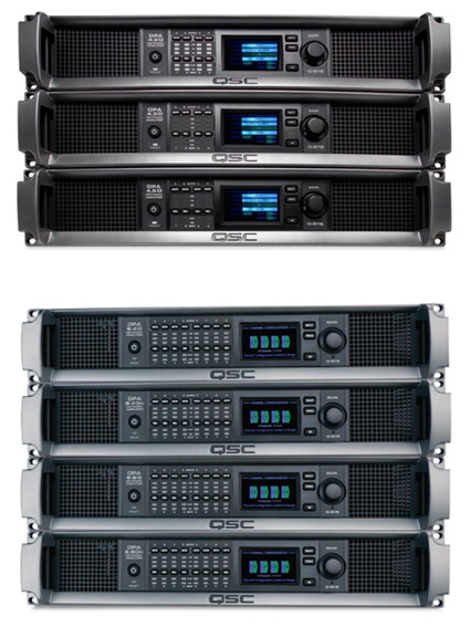 DPA-Q Series amps – 4 channel and 8 channel logo