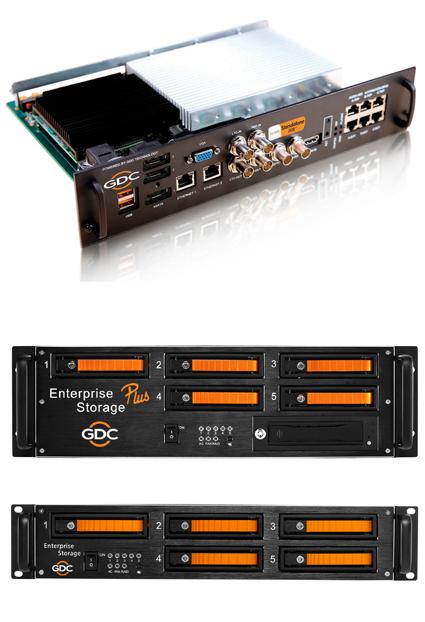 SX-3000 IMB with Enterprise Series Storage logo