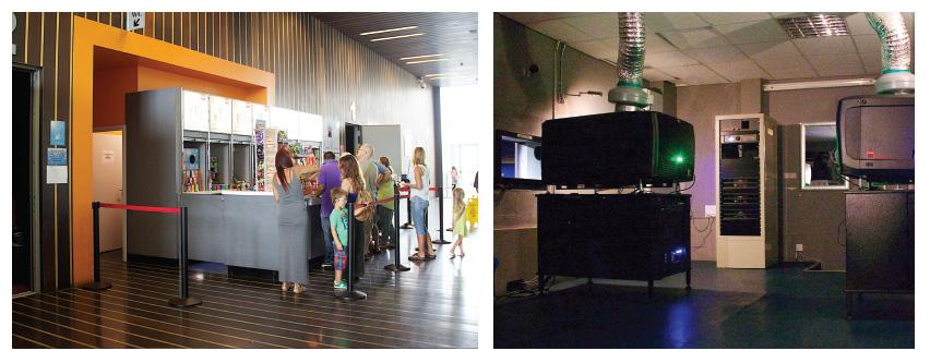Gibraltar goes digital - The 2 screen Leisure Cinemas complex in Gibraltar