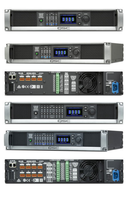 CX-Q Amplifiers - 4 Channel and 8 Channel versions logo