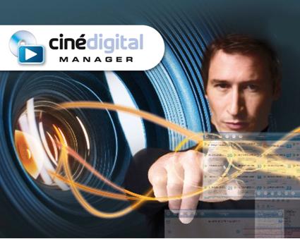 CinéDigital Manager® logo
