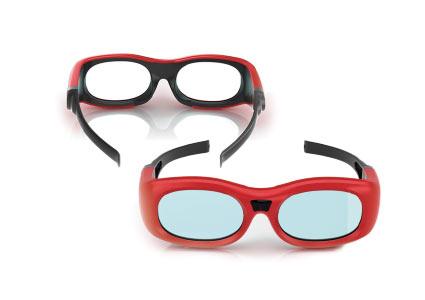 Small-sized Cinema 3D Glasses logo